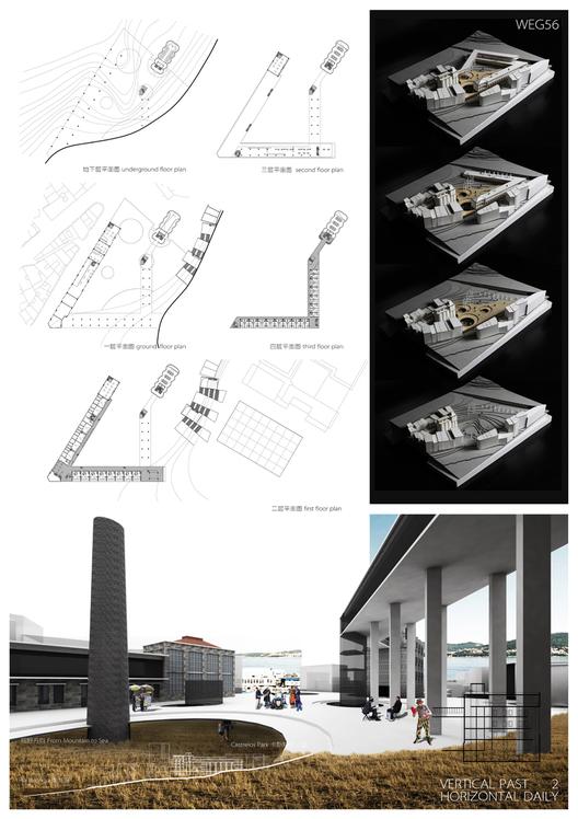 """Ganadores del Concurso Internacional SC 2013 """"Links: Regeneración Urbana"""" / Segunda Parte,Primer Lugar. Image Courtesy of Future"""