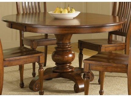 48 Round Table With Leaf Can Seat 6 Round Dining Room Sets Round Dining Room Round Dining Table Sets