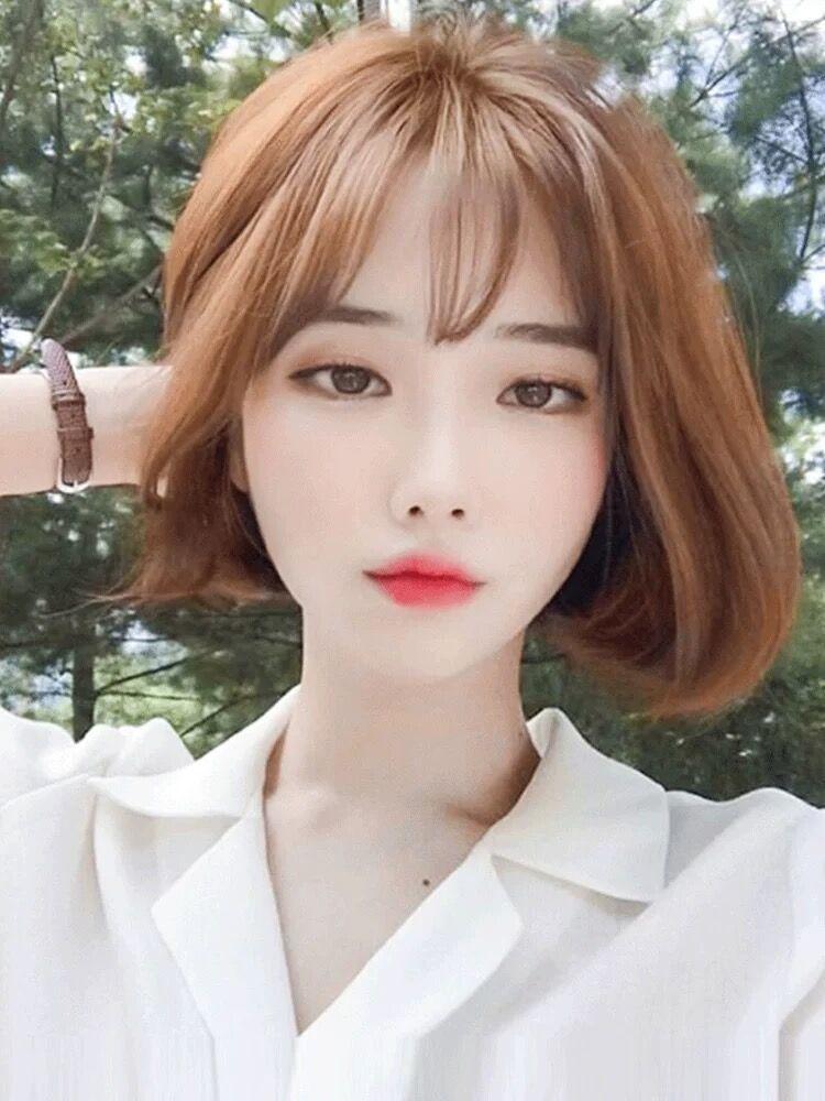 Wigo Bob Short Full Wig Yesstyle In 2020 Short Hair Styles For Round Faces Korean Short Hair Short Hair Styles