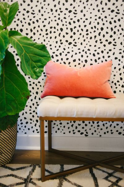 A Statement Powder Room + 17 Wallpapers that Wow Target