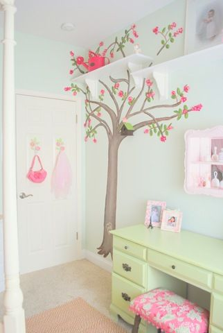 Decoracion habitacion de ni a cuarto amelie pinterest for Stickers habitacion nina
