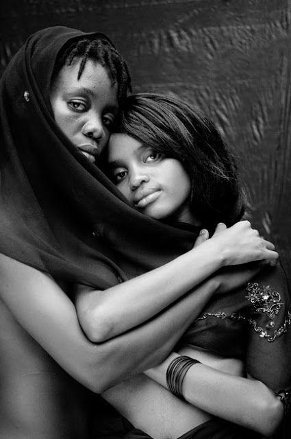 Vero nero africano lesbiche