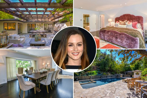 Take a look inside leighton meester s million home celebrity