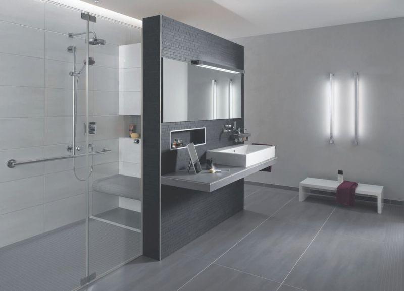 Badezimmer T Losung Moderne Fliesen Badezimmer Anthrazit