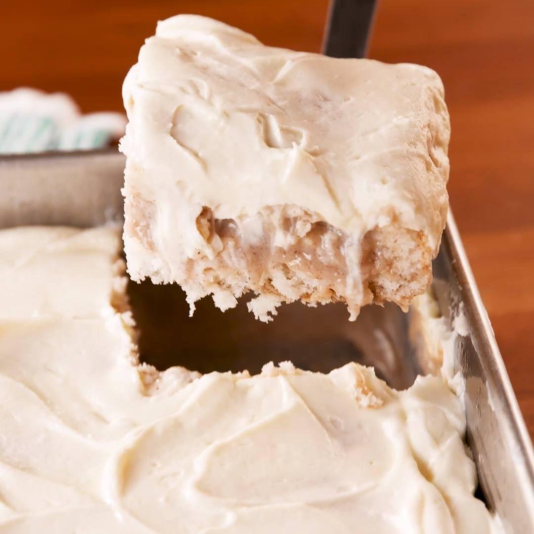 How To Make Cinnamon Roll Poke Cake  #cinnamonrollpokecake This poke cake tastes EXACTLY like a cinnamon roll. #cinnamonrollpokecake How To Make Cinnamon Roll Poke Cake  #cinnamonrollpokecake This poke cake tastes EXACTLY like a cinnamon roll. #cinnamonrollpokecake