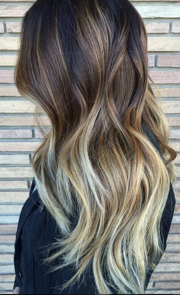 Seamless Brunette Ombre Hair Color Hair Color 2017