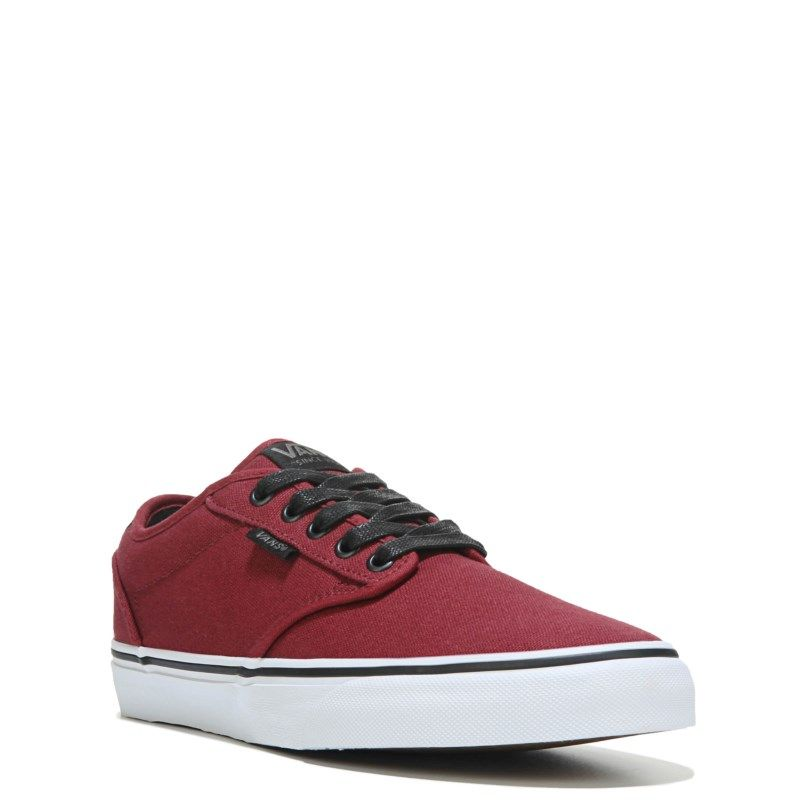 f19d51fbe0675f Vans Men s Atwood Deluxe Sneakers (Oxblood Red White) - 11.0 M