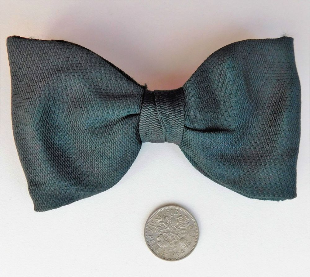 Vintage Bottle Green Bow Tie Tenax Clip Fits All Sizes Vintage 1950s Ready Tied Clip On Bow Ties Green Bow Tie Bows