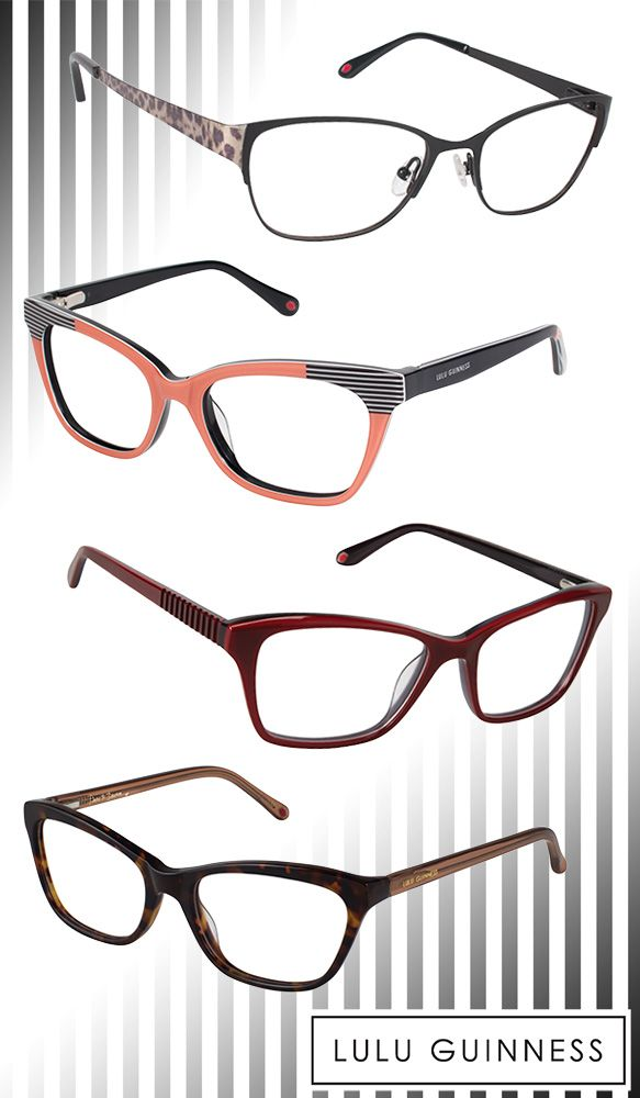 Adorn Your Peepers with Subtly Glam Lulu Guinness Frames | Lulu ...