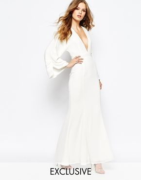 Winged Dress with Sleeves