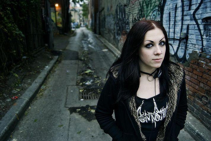 Black Metal Girl by systemic | damn | Pinterest | Metals ...