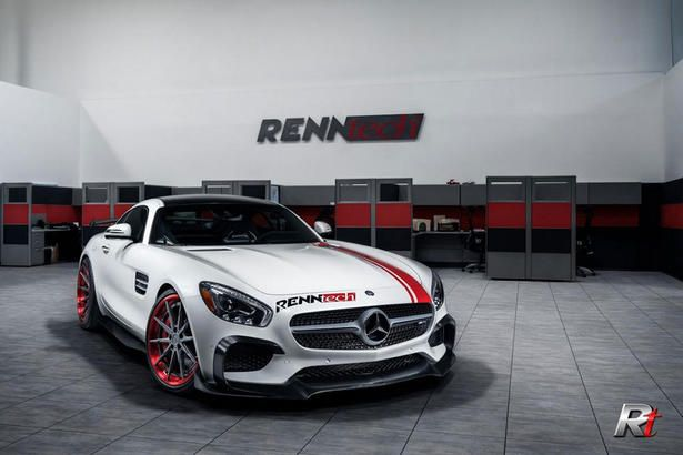 Mercedes Amg Gt S Powerkit And Body Kit By Renntech Mercedes Amg