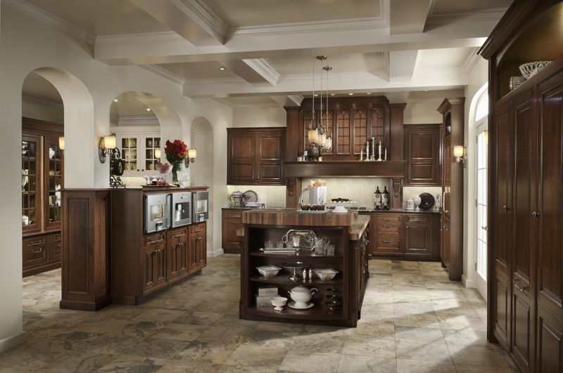 Create the Look of this Wood-Mode Elegant Traditions kitchen ...