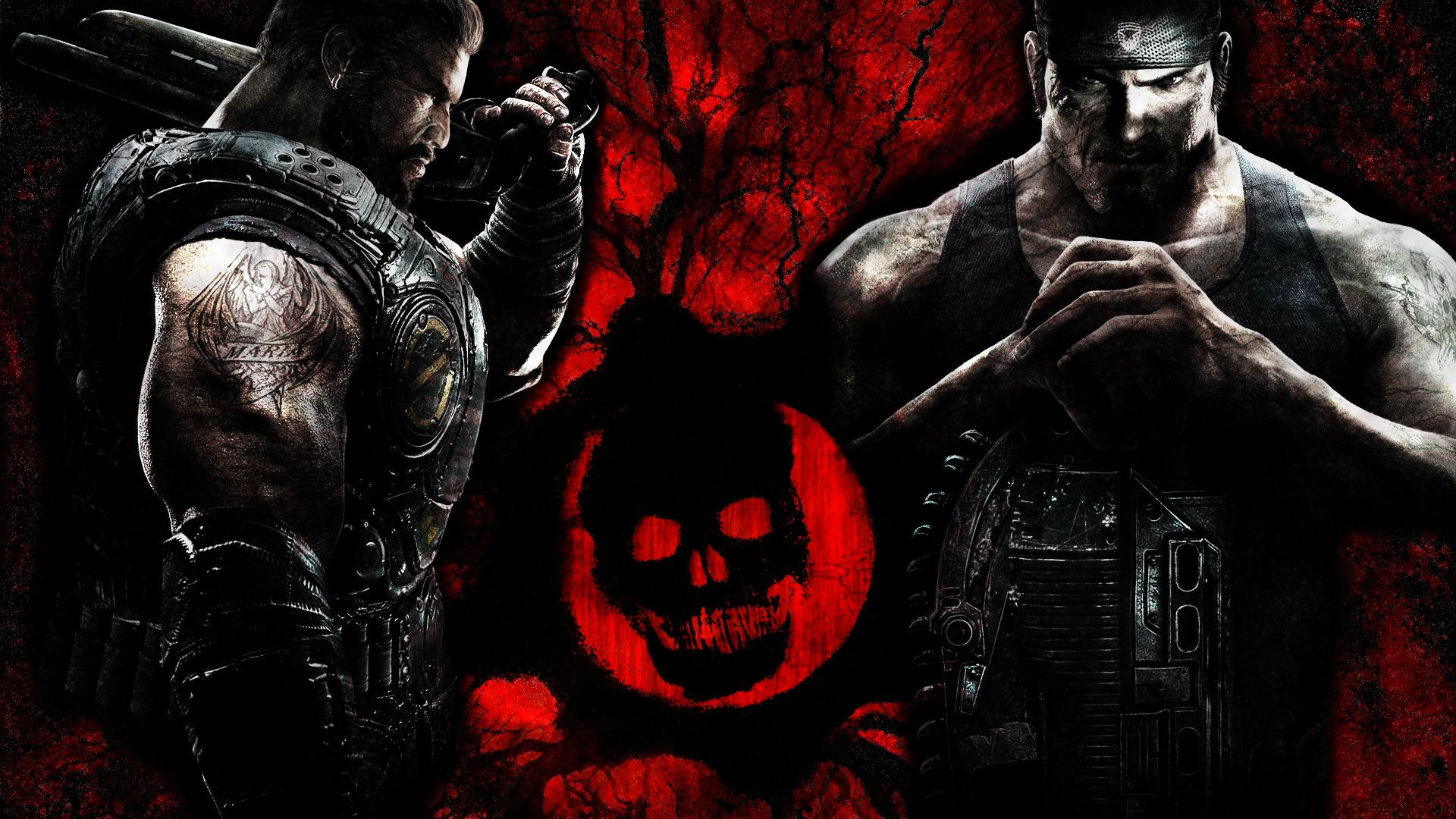 Gears of War Num.1 by ~chamillitarysk8r on deviantART