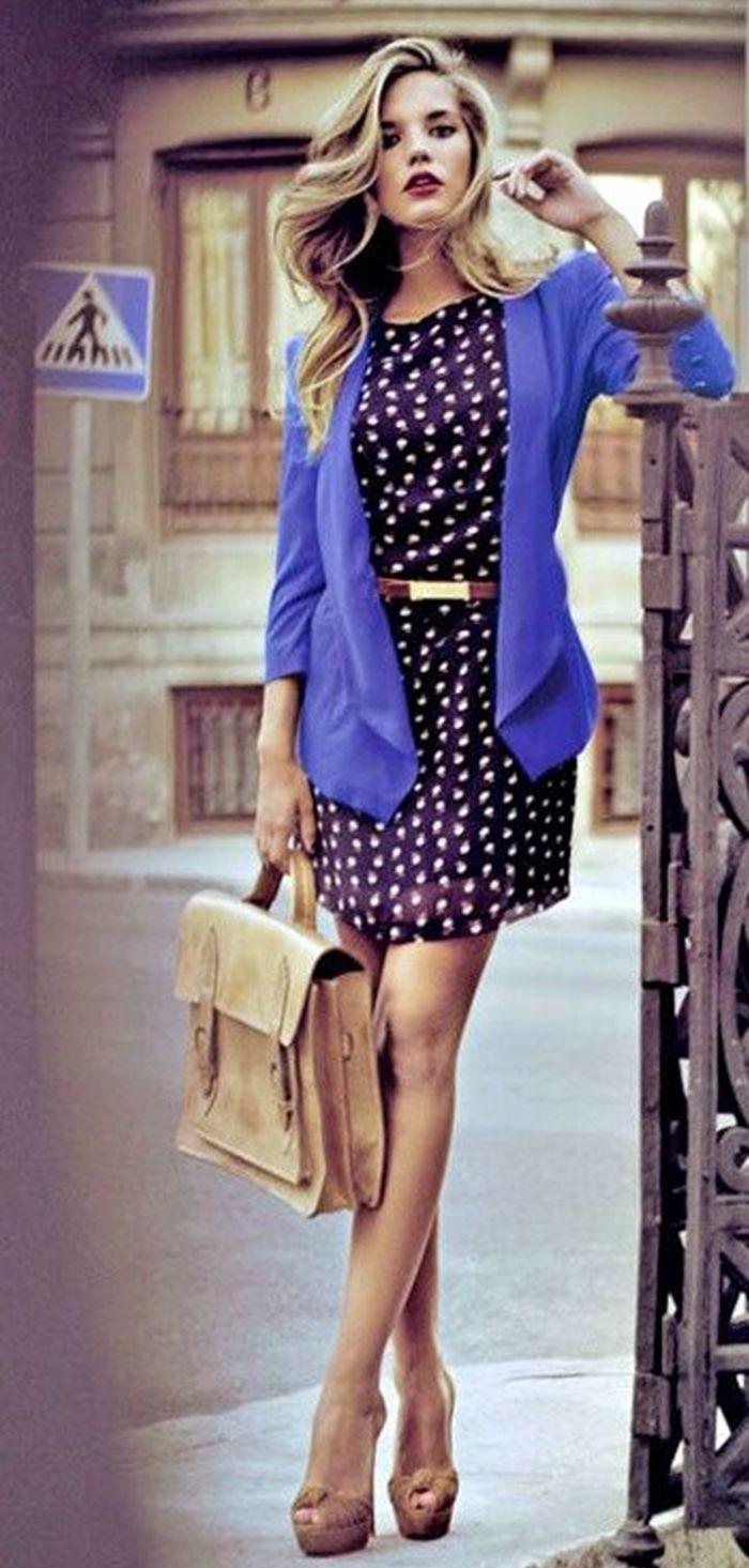 Divina Ejecutiva: #Divitips - 30 formas de usar un saco azul klein ...