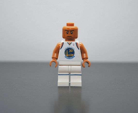 Custom Minifigure STEPHEN CURRY Golden State by MiniMenMinifigs 169490e0f
