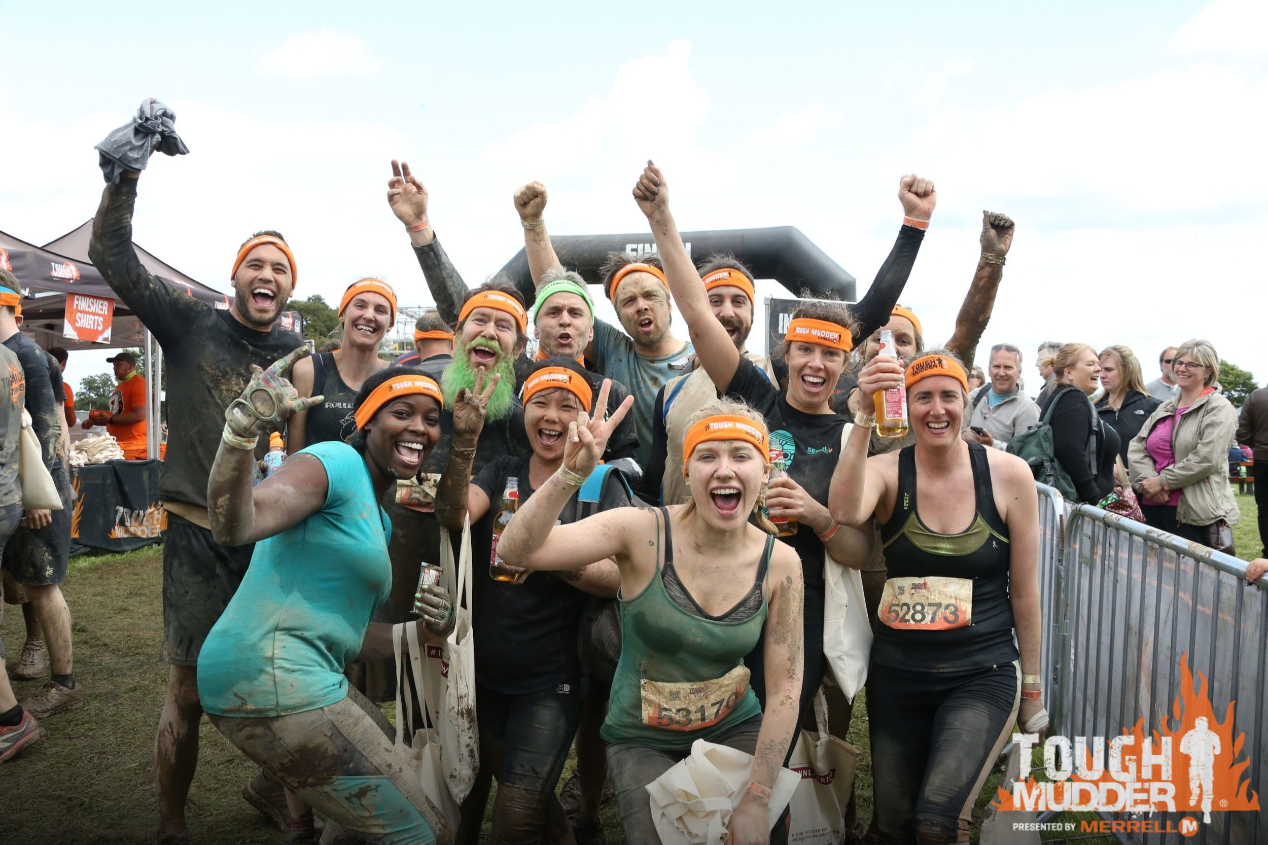 The photos and the videos are all in! Check them out and hear from our team about their #ToughMudder experience that benefitted nonprofits for the homeless. #companyculture #philanthropy
