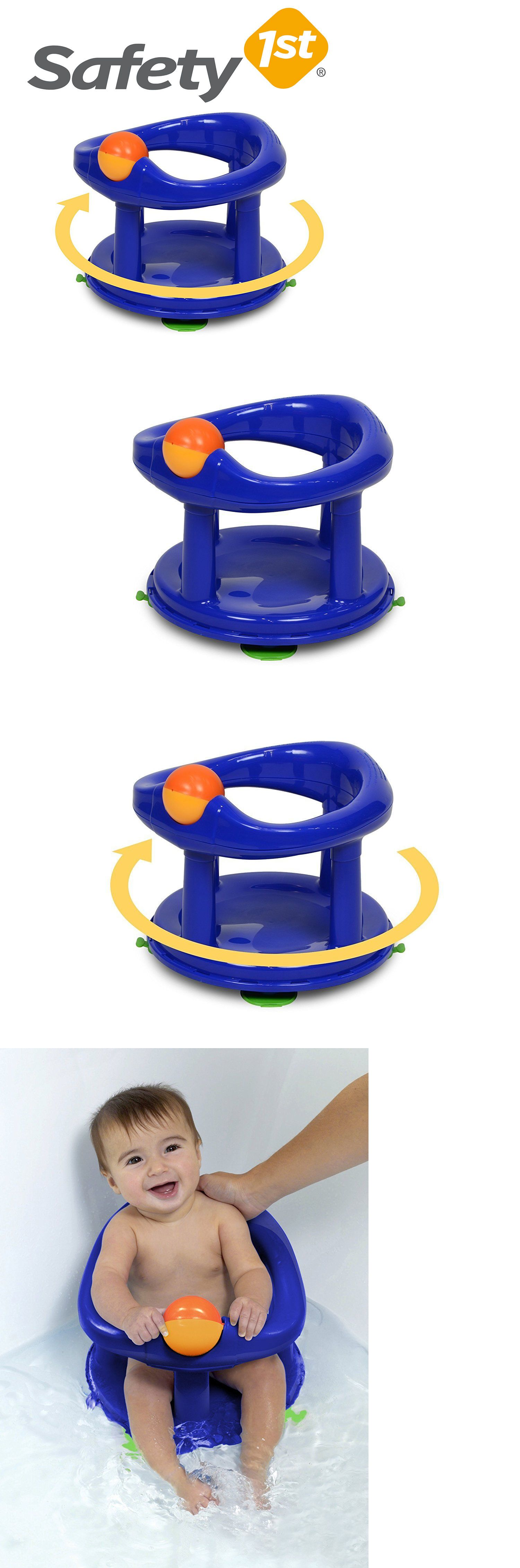 Safety First Swivel Baby Bath Rotating Ring Seat Bathtub Safety 1st ...
