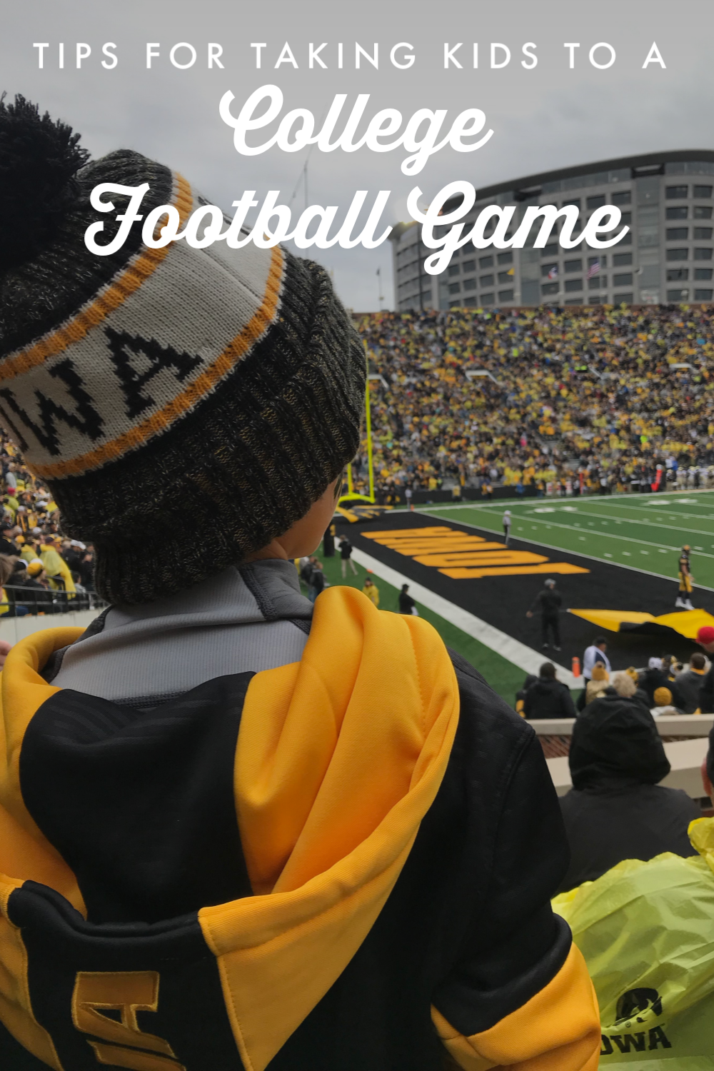 Tips for Taking Kids to a College Football Game College