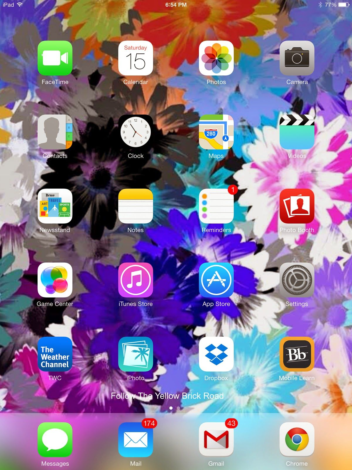 Follow The Yellow Brick Road Whats On My Ipad Mini With