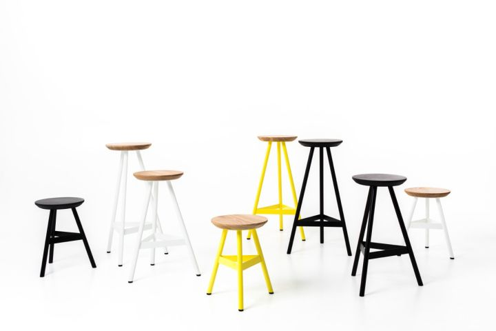 Tre Mezzo By Biasol: Design Studio For Meizai Stool