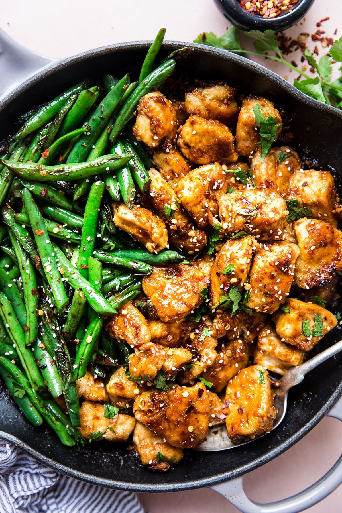 Crispy Chicken Stir Fry #stirfrysauce
