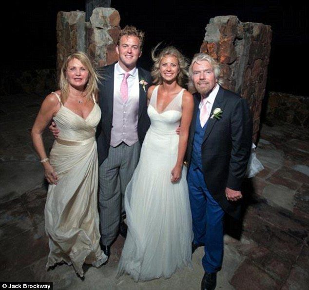 Exclusive Sir Richard Branson Opens Up The Family Album As He Shares Some Photos Of Daughter Holly S Caribbean Wedding Petite Wedding Dress Wedding Dress Inspiration Perfect Wedding Dress