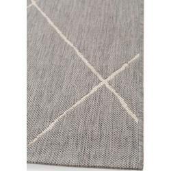 Photo of benuta Plus indoor and outdoor carpet Metro Gray 160×230 cm – for balcony, terrace & garden …