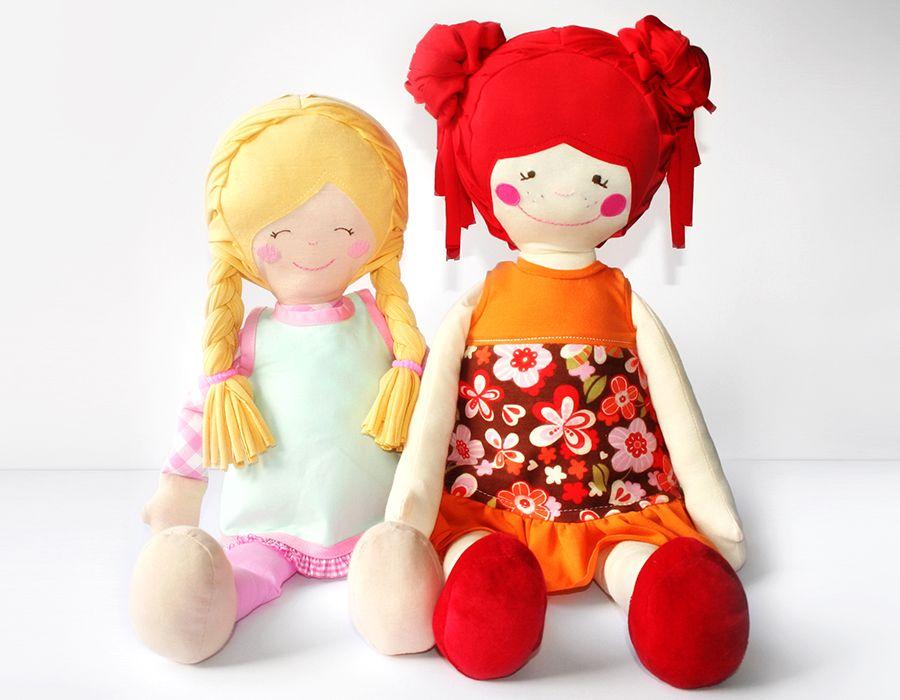 Anleitung Puppe selbst nähen | Muñecas | Pinterest | Crafts