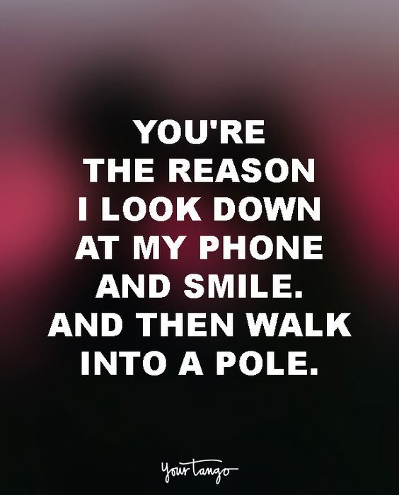 Funny love text for him