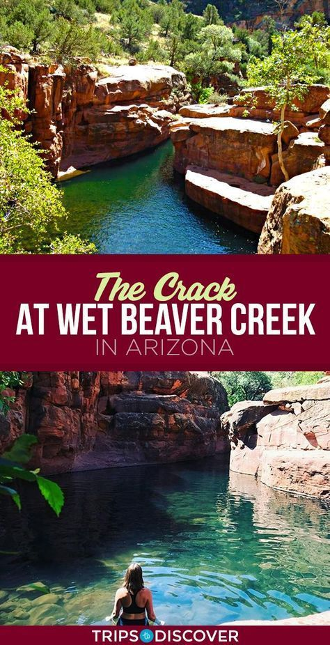 Jumping Into ''The Crack'' at This Spot in Arizona is The Ultimate Summer Adventure
