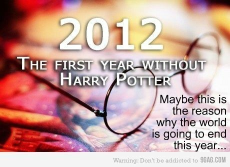 The First Year Without Harry Potter *tear*