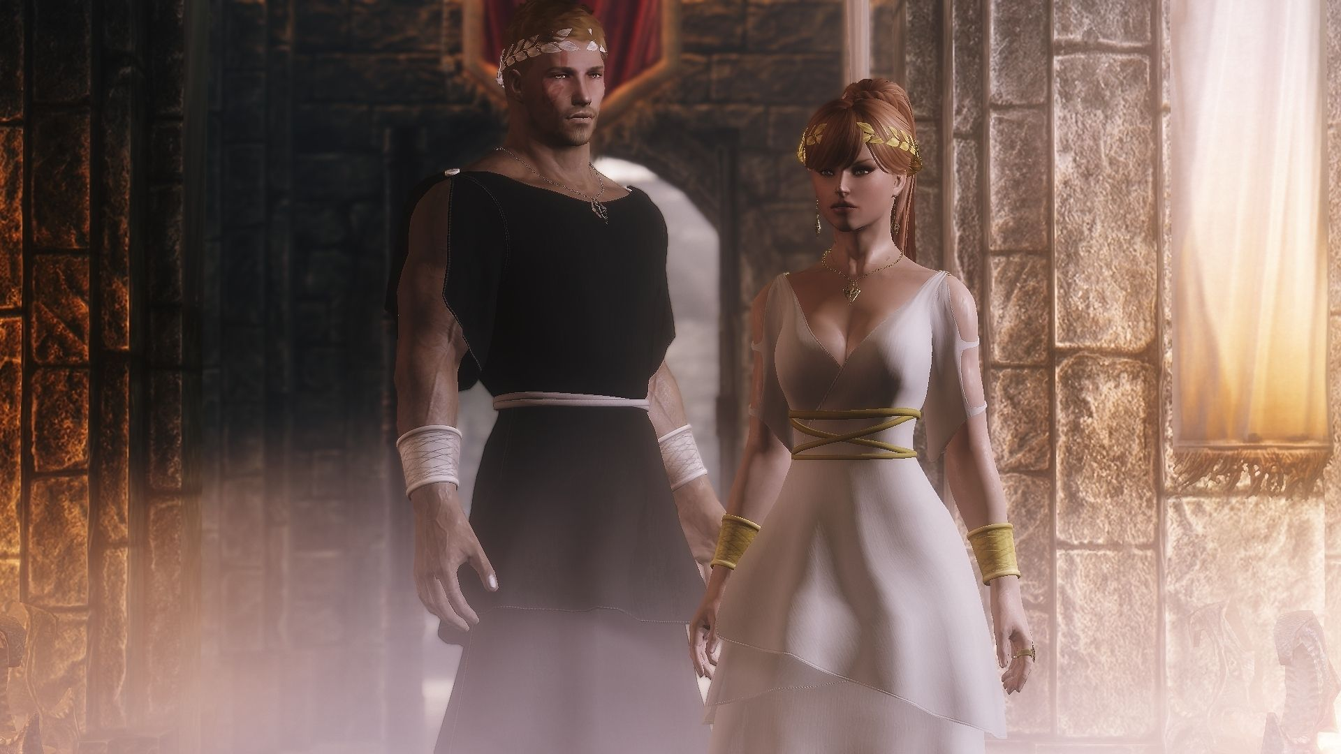 Medium Of Skyrim Wedding Dress
