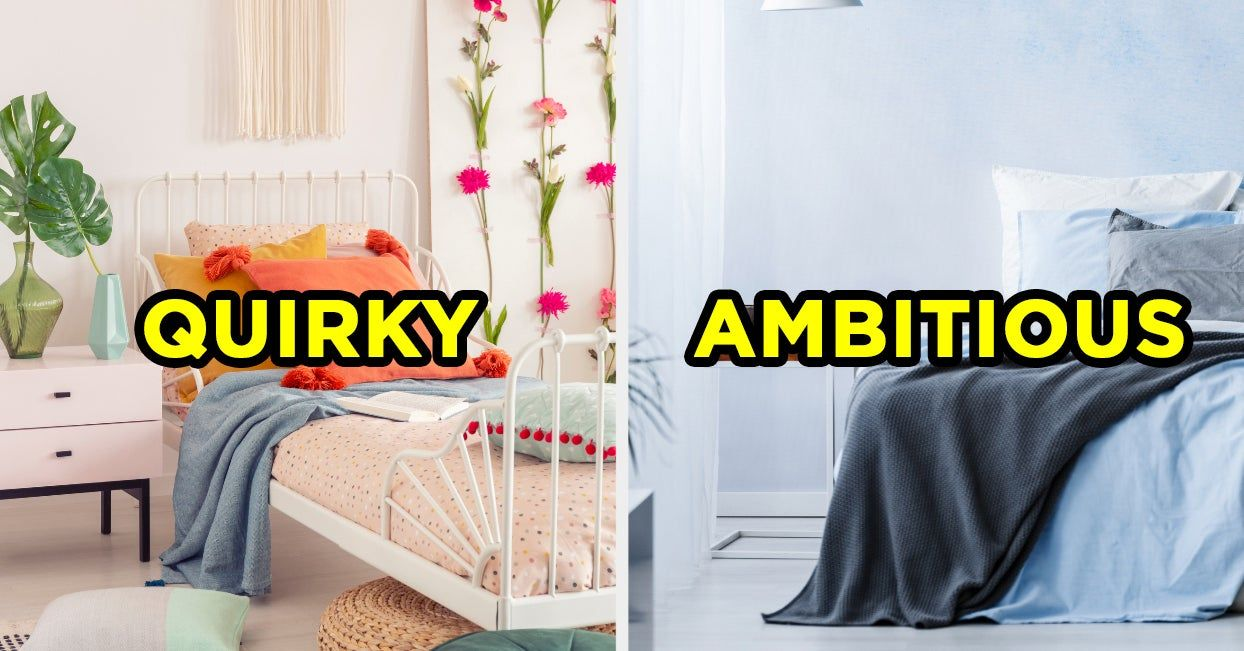 Design Your Dream Bedroom And We Ll Reveal What Word Best Describes You In 2020 Dream Bedroom Design Dreaming Of You