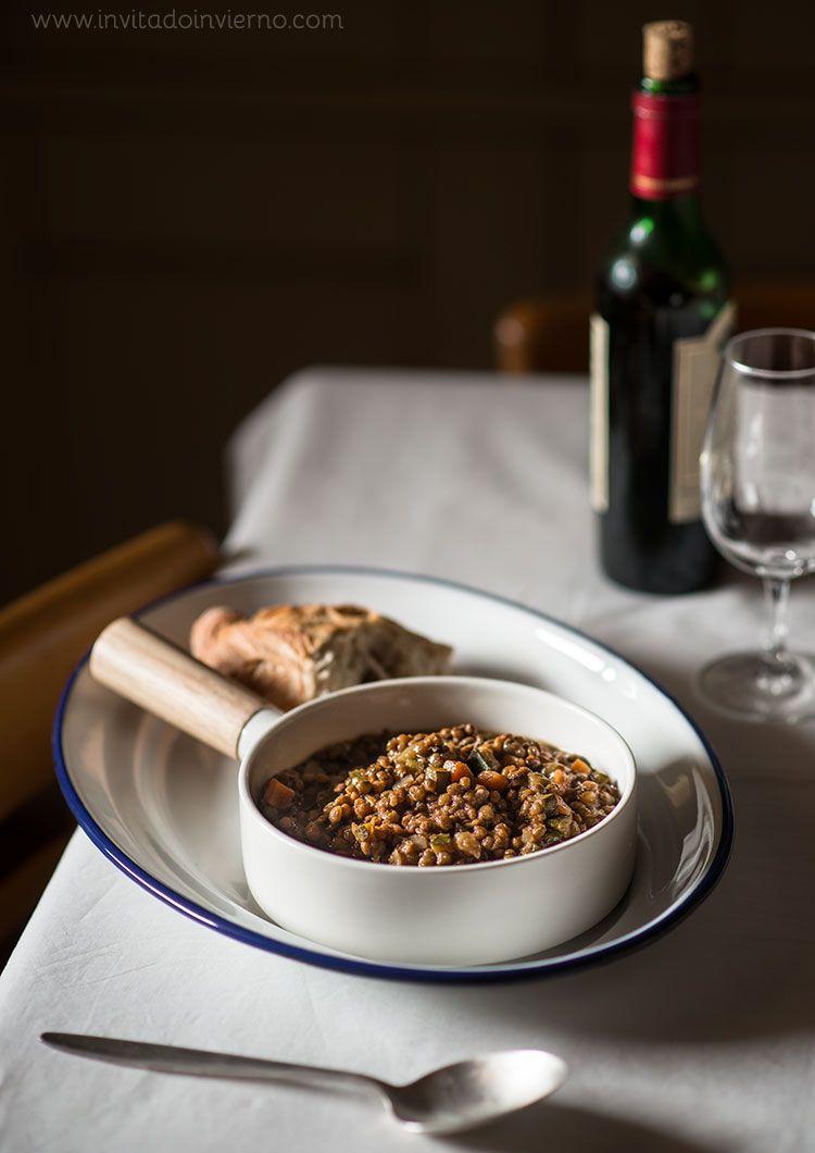 Lentejas con verduras | Recetas con fotos El invitado de invierno