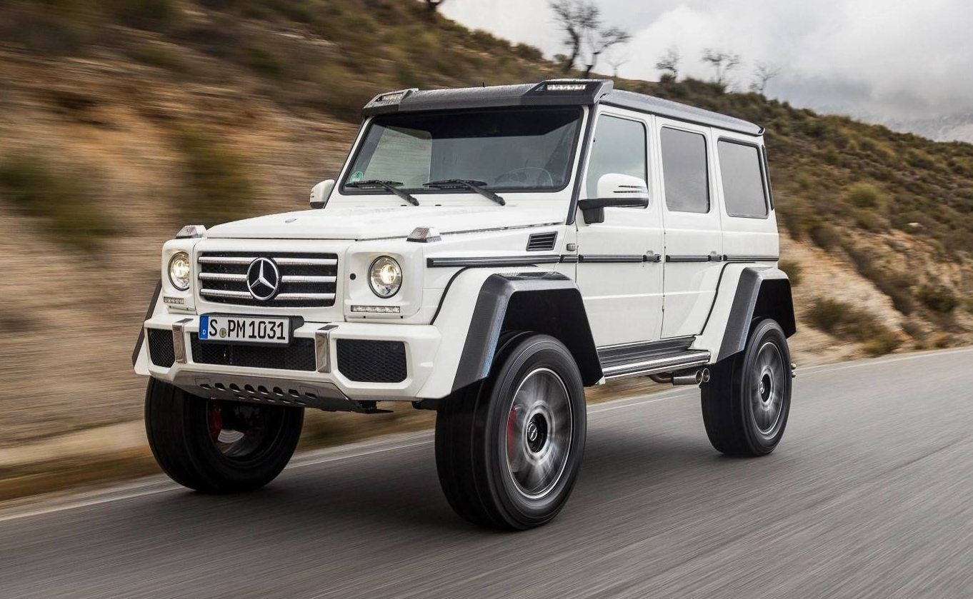 Other cars mercedes benz g 280 edition mercedes benz g - Gtspirit Review Of The New Mercedes Benz G500 4x4 Concept Including Exclusive Road Test