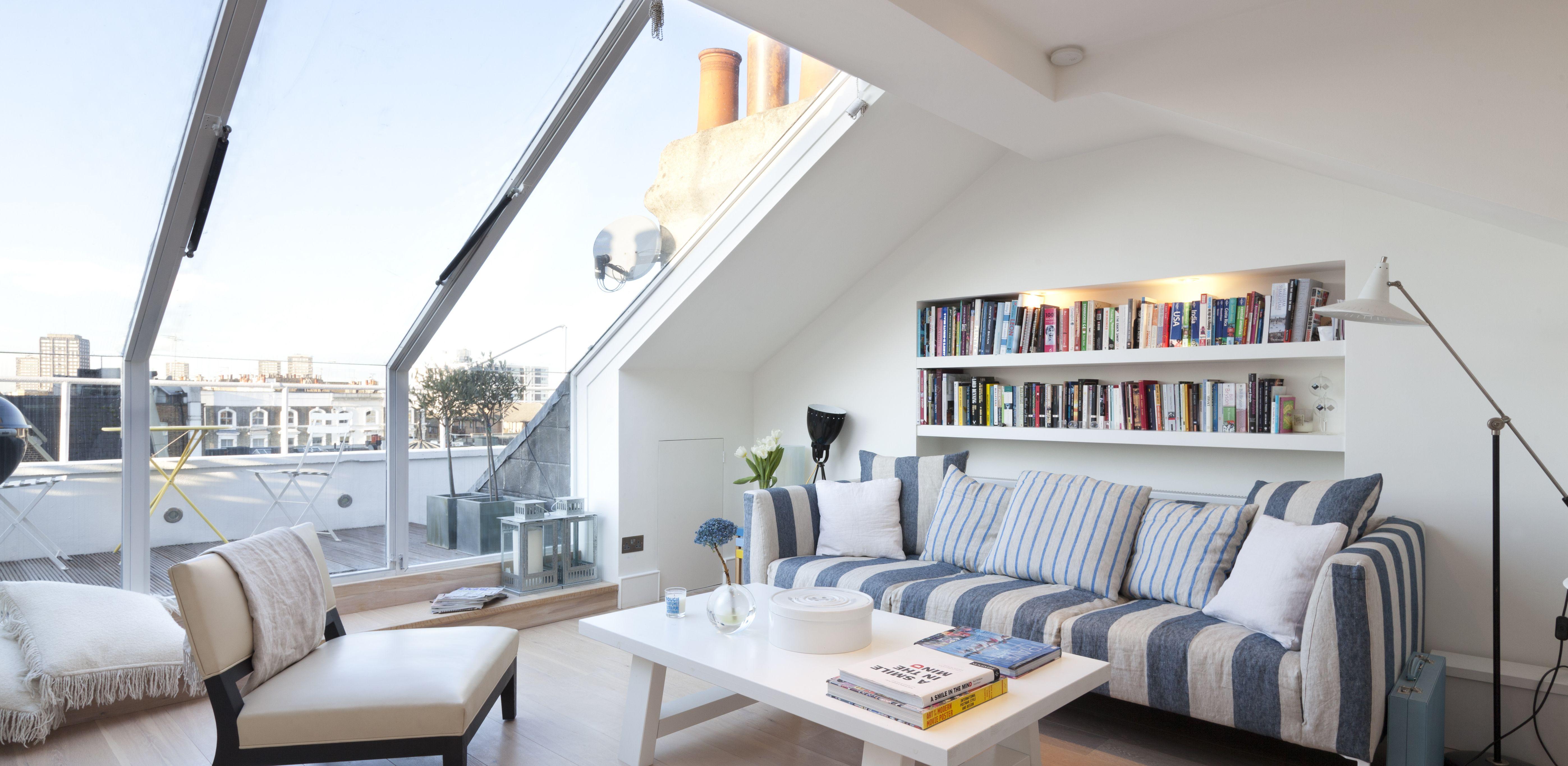 Penthouse apartment on Portobello Road London Amazing skylight