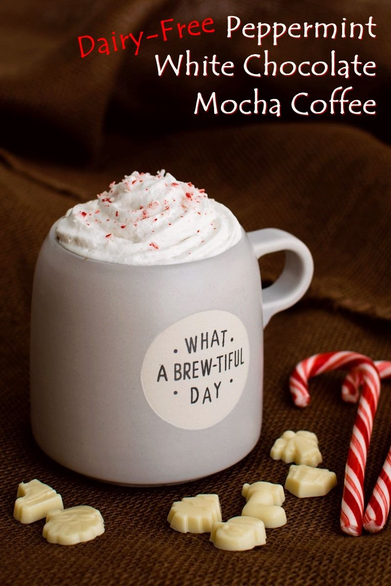 Vegan Peppermint White Chocolate Mocha Coffee Recipe