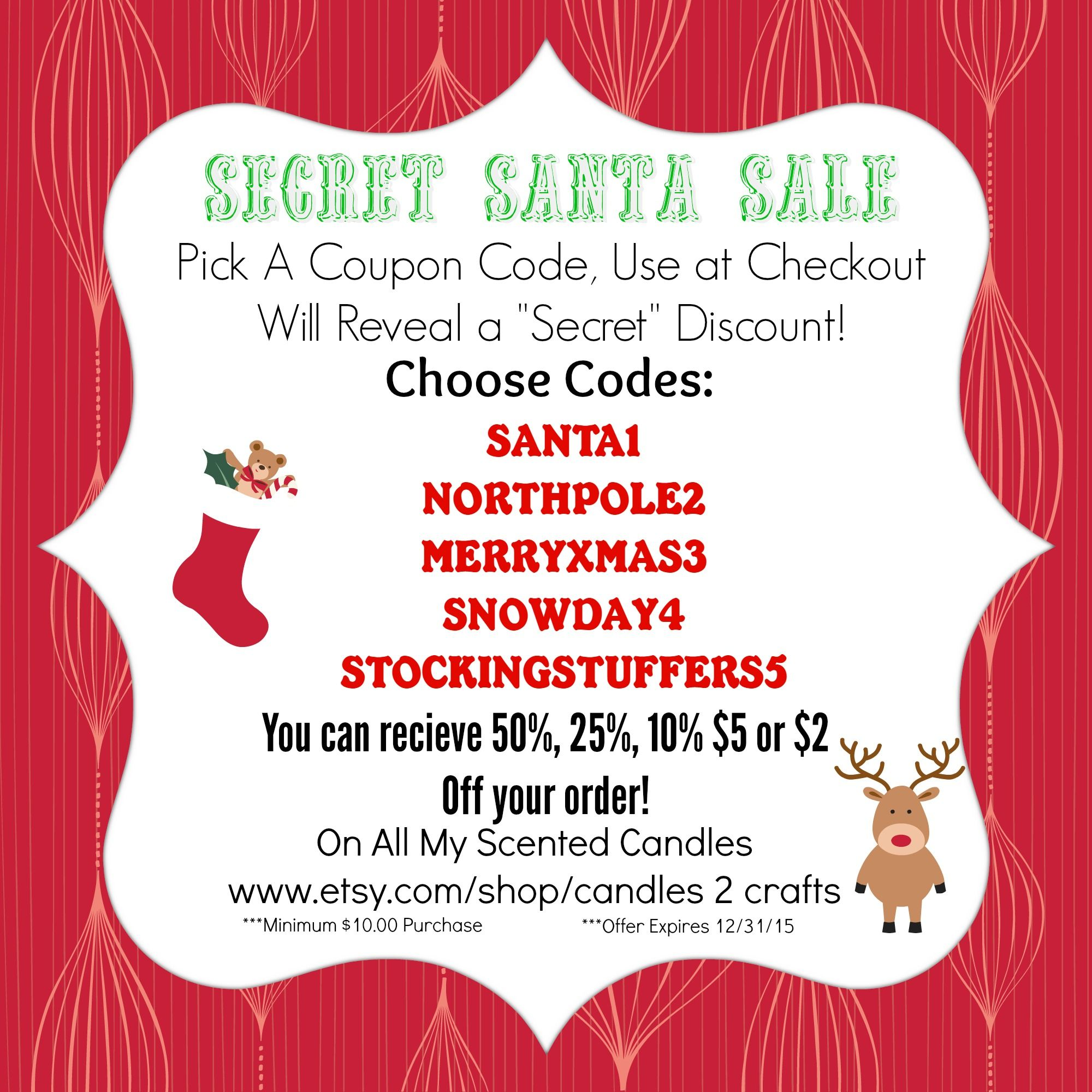 Pin By Kim Pierson On Xmas Gift Ideas Etsy Party Secret Santa Scented Soy Candles