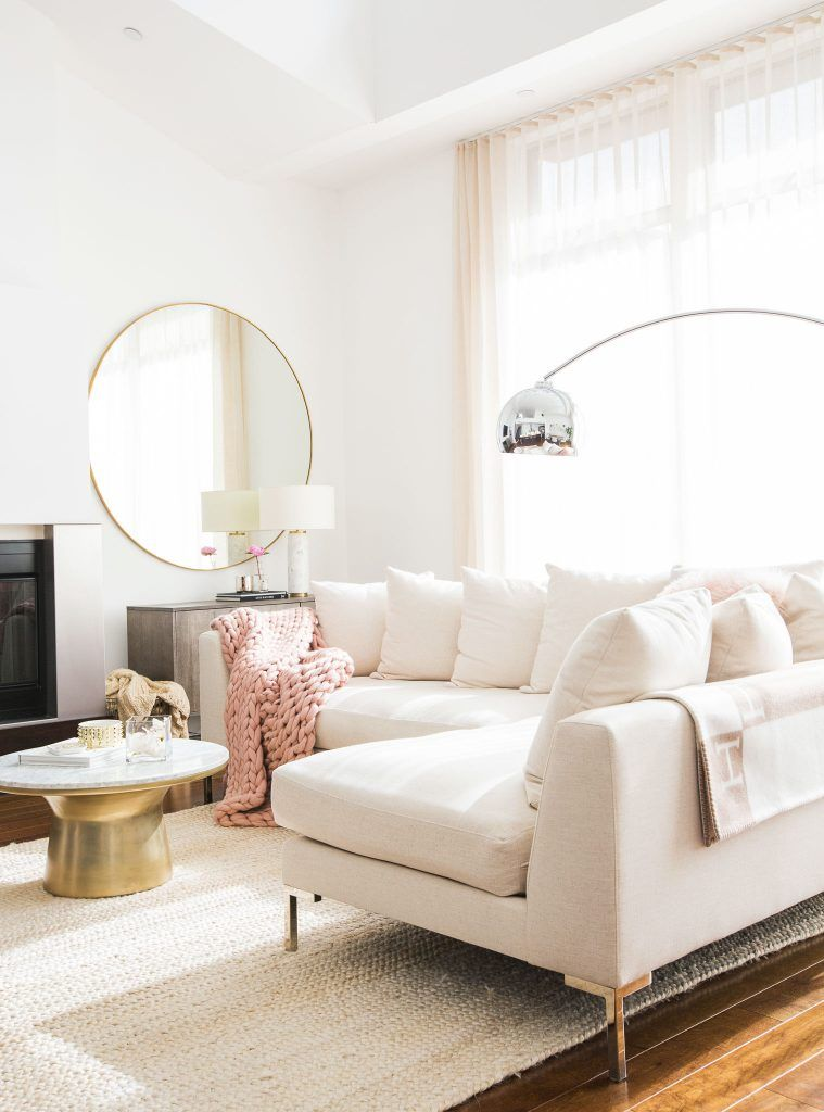 The White Living Room Furniture You Should Buy This Winter Living Room Sectional Living Room Designs Retro Home Decor