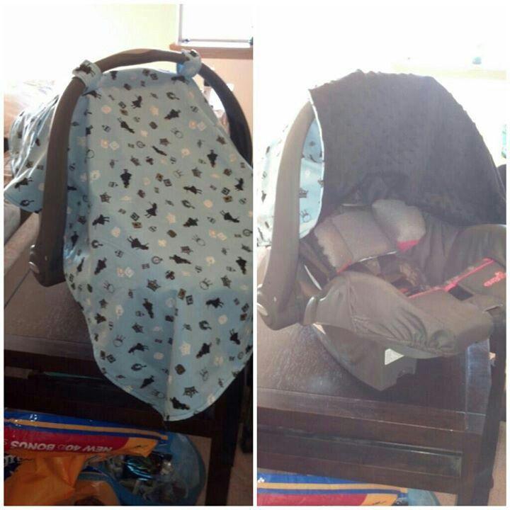 Alice In Wonderland Blue Blanket Car Seat Cover Alice In