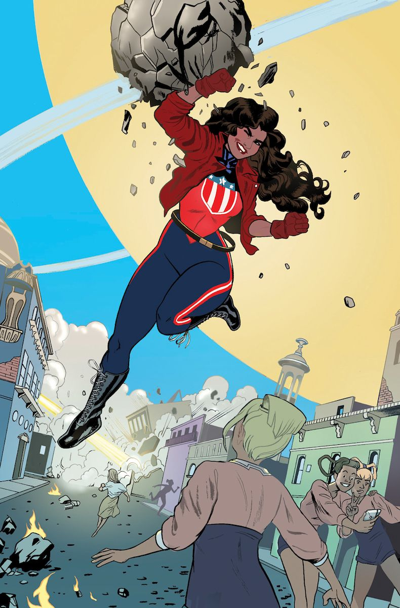 America #1   Marvel and dc characters, Marvel, Miss america
