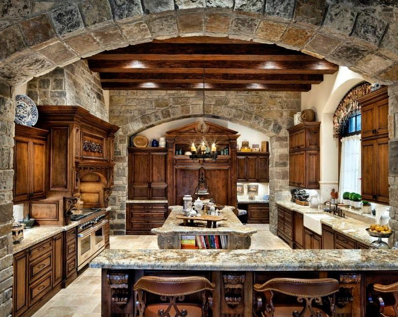 Rustic Kitchen Design...I Need This Kitchen!