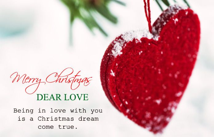 Cute Romantic Christmas Love Quotes For Lovers. Sweet Merry Christmas  Images For Boyfriend Girlfriend, Husband Wife, Loving Wishes Messages In  English.