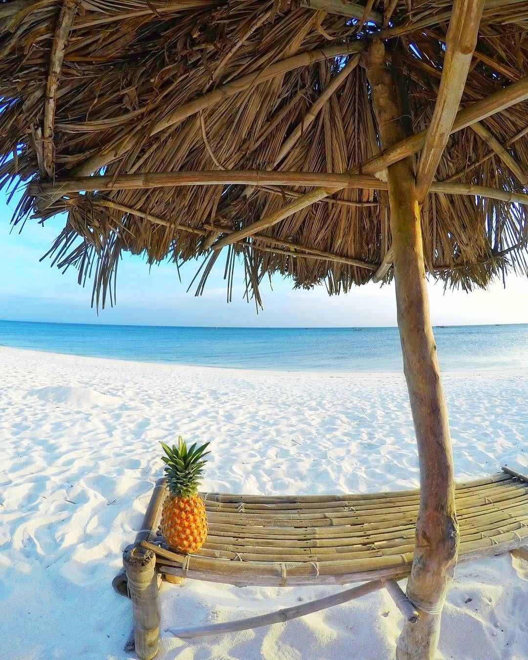 Paradise Beach Bantayan Island Cebu Philippines Orte Urlaub See