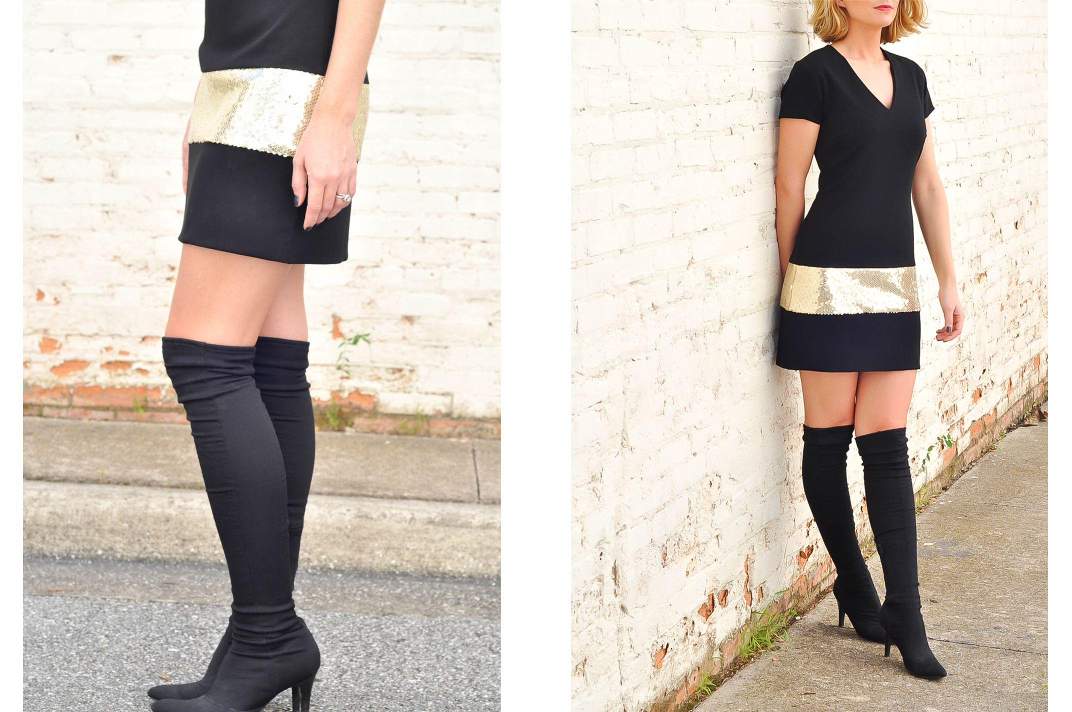 The Camilyn Beth 'Get Away' Dress in Black | FW16