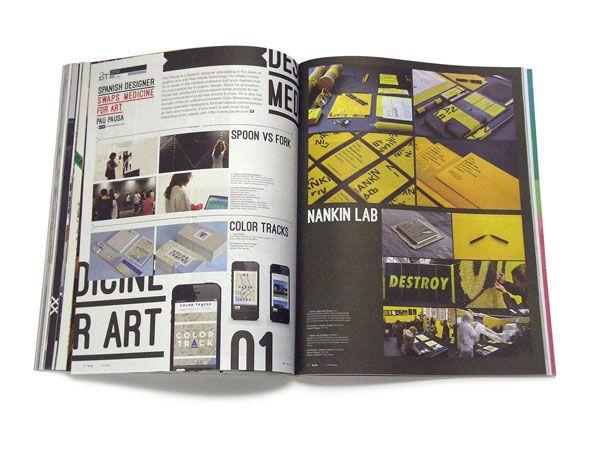 IdN v21n2: Minimalist Issue on Editorial Design Served
