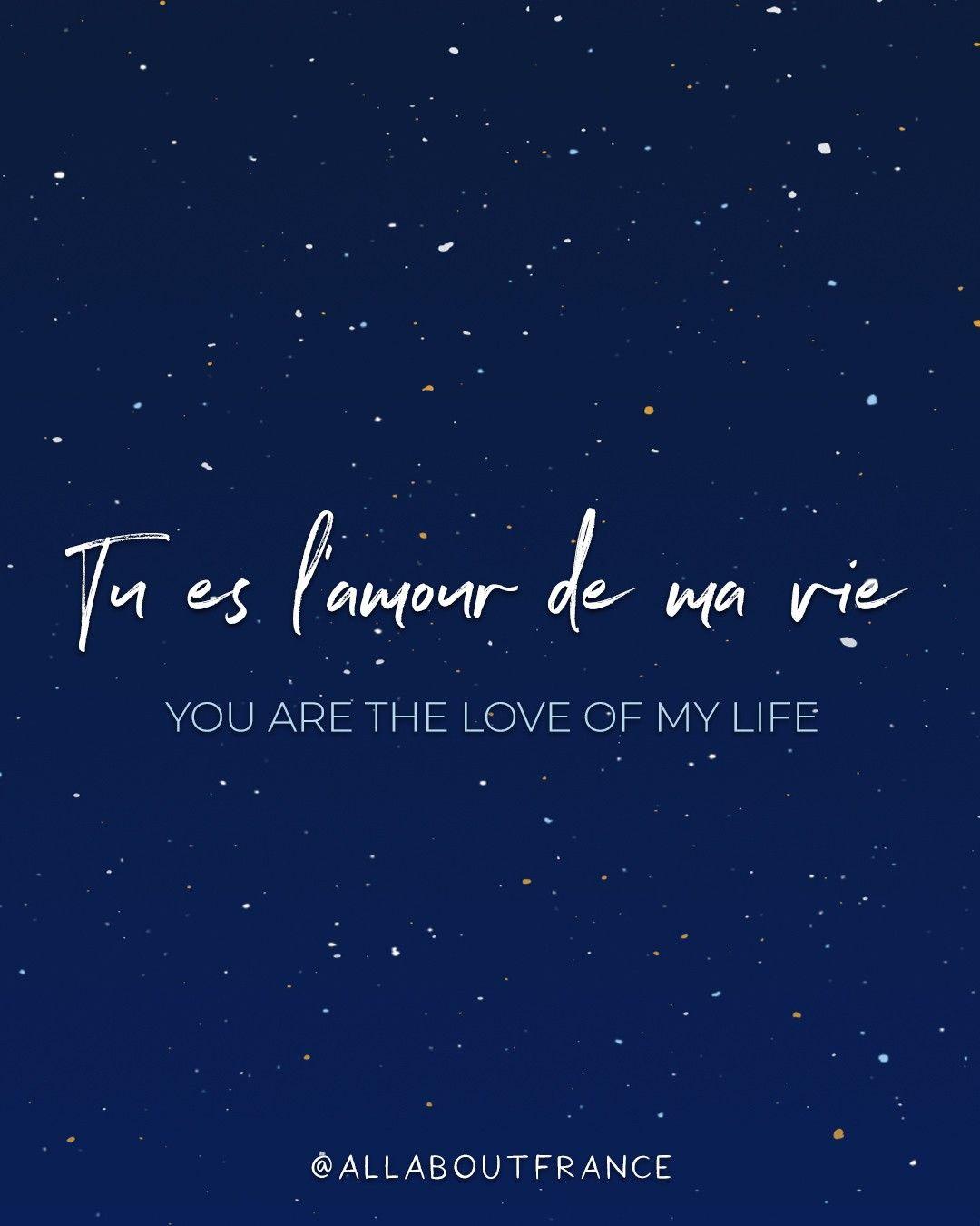 Liebe sprüche auf französisch