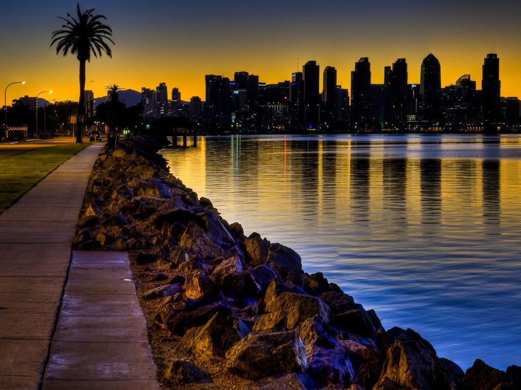 San Diego Wallpapers HD | Beach wallpaper, San diego beach, San diego city