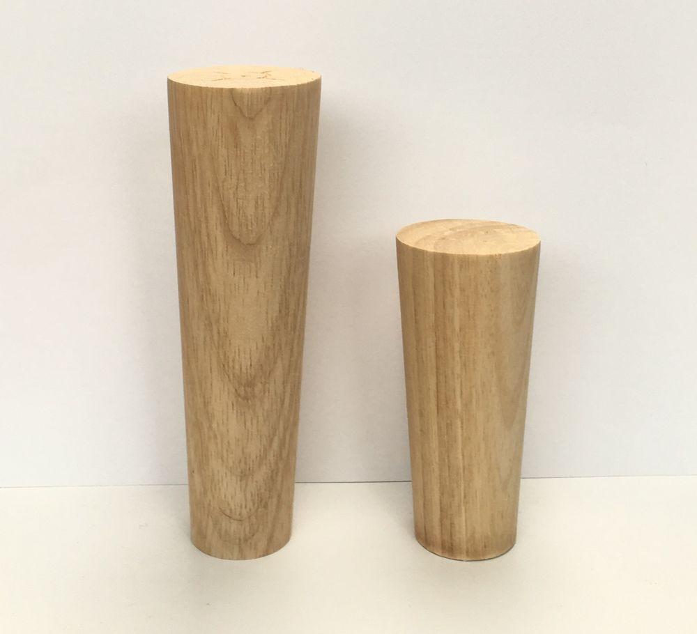 Magnificent Details About 4 Wooden Furniture Legs Hardwood Retro Danish Home Interior And Landscaping Mentranervesignezvosmurscom
